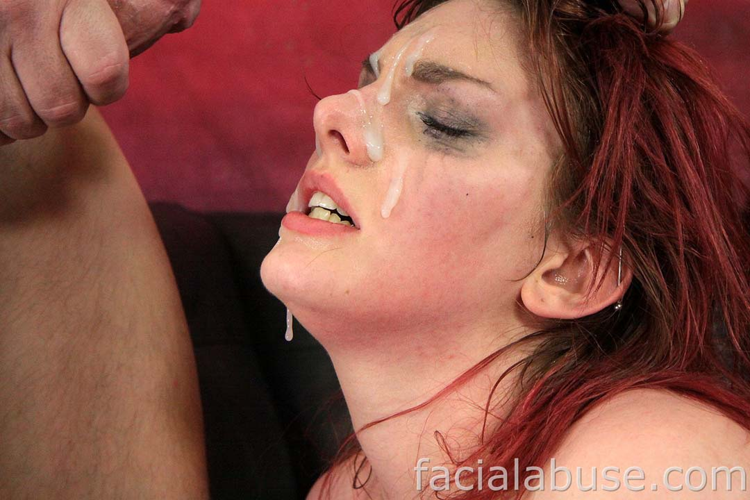face porn Balls on her
