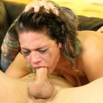 Hot Slut Kiki Sweet Swallows Down Two Big Hard Dicks Balls Deep